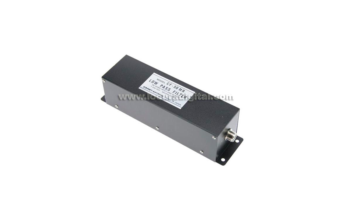 COMET CF-50MR filtro pasabajos 1 Kw/CW Frecuencias de 1,9 a 54 MHz.