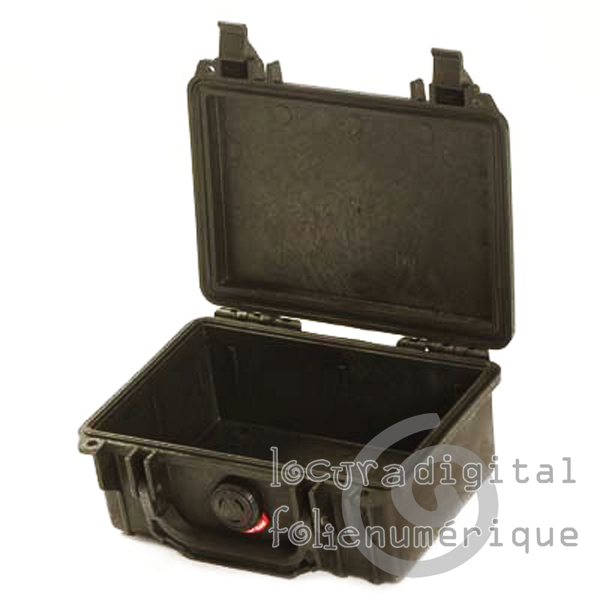 Black Protective Case 1120-001-110, no foam.