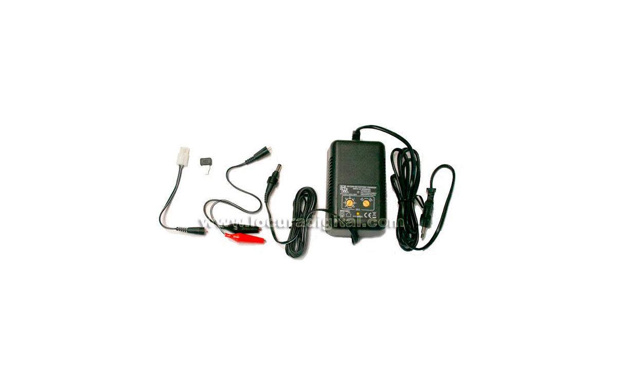 MINWA MW6168UCE Cargador baterías de radiocontrol Ni-Mh y Ni-Cd