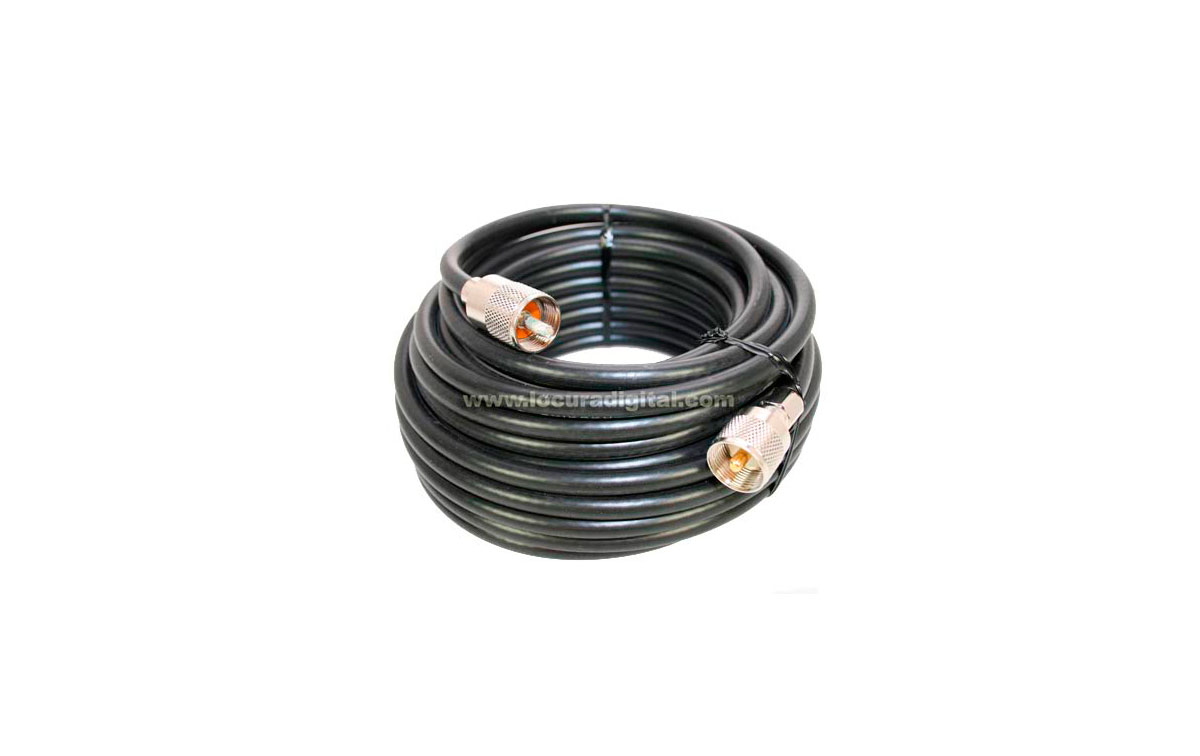 Cable de alta calidad diseñado con PL desmontable. Este cable es ideal para personas que necesitan realizar un montaje de forma rápida y sencilla sin necesidad de disponer de soldadores.
