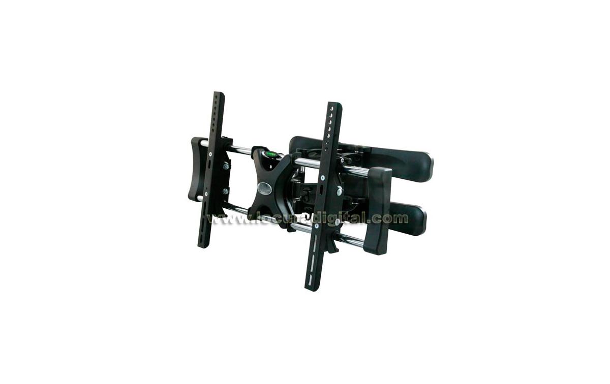 LUNIXPRO 50 Negro - Soporte Inclinable para TV plasma y LCD de 32 a 50 pulgadas
