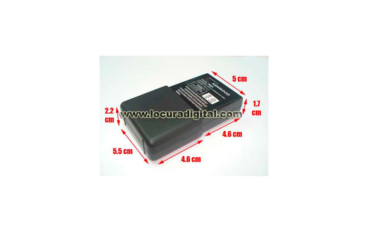 PB34HEQ Batería Equivalente Kenwood. Ni-Mh 9.6V 1000mAh. Modelos: TH22 TH42 TH79 BC17 TK208 TK308