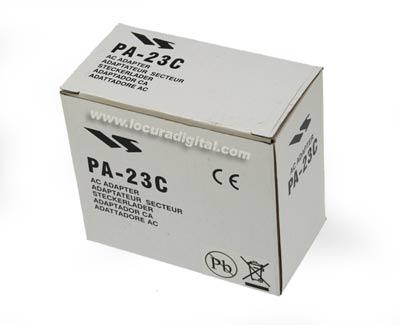 YAESU VERTEX PA23C carregador de parede para alimentador VAC-800 desktop