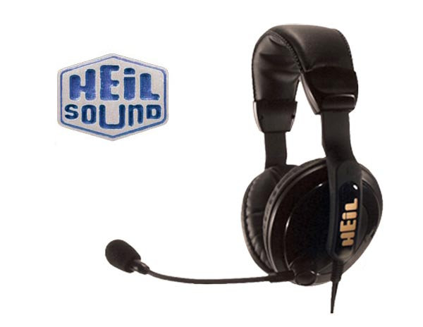 HEIL SOUND PROSET-4 Micro auscultadores profissionais HEIL PRO-SET PARA RADIOACOMUNICACION