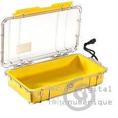 1060-026-100E Micro-Clear Protective Case-Blue