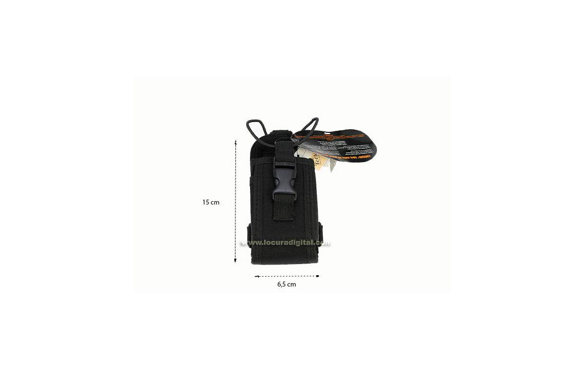 CS02 Funda Universal de Nylon. Fijación para cinturón y arnes. Talla Grande