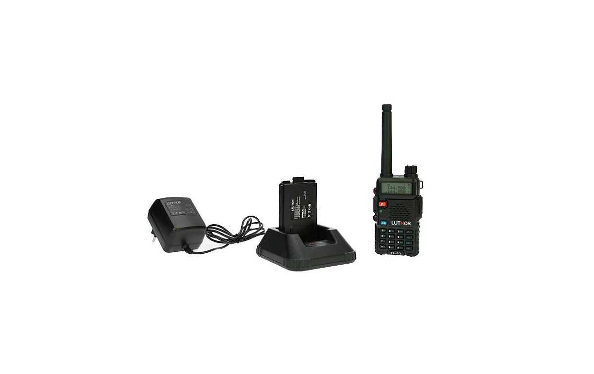 WALKIE TALKIES LUTHOR TL-22  MONO BANDA VHF  144 MHZ,
