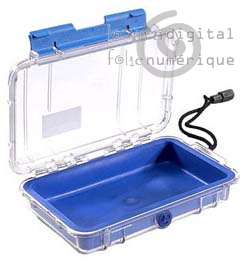 1040-026-100E Micro-Clear Protective Case-Blue