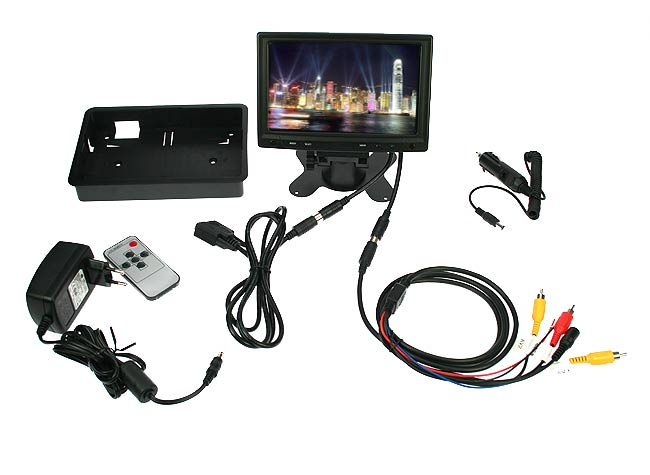 "BRVGA701 Barrister monitor VGA 7"""