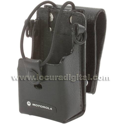 Motorola RLN6302A  Fundas de cuero  para los walkies  RDU2020, RDU2082C RDU4100, RDU4162C RDV2020, RDV2082C RDV5100, CP110, , XNTi, XTNiD