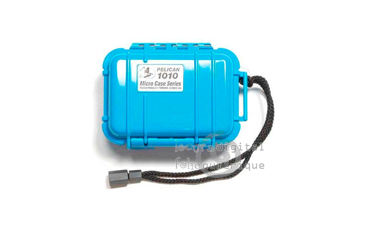 1010-025-120E Micro-Maleta de protección en Azul