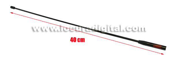 DIAMOND SRH771 Dualband antenna for SMA handheld, 144/430. 40 cms.