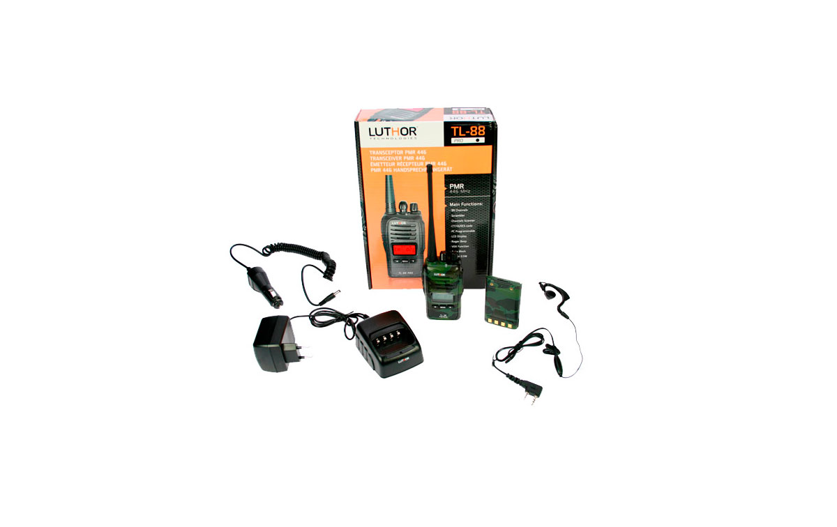 TACTICAL TL-88-GREEN ALL KIT1 WALKIE Mimetiz USO LIVRE N� LICENCIADA PMR pinganillo 446 + GIFT! NOVO MODELO!