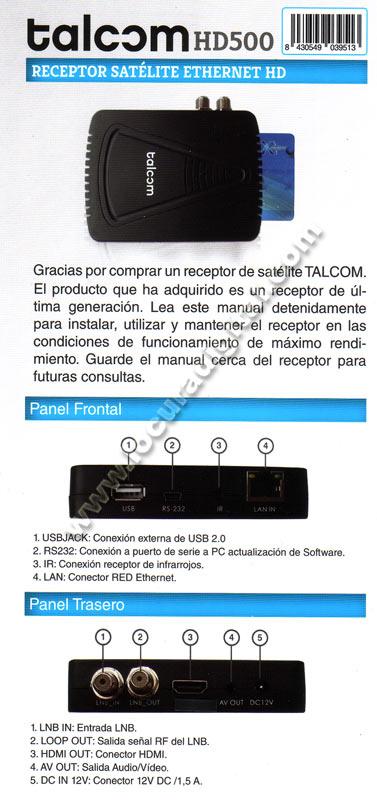 TALCOM HD 500
