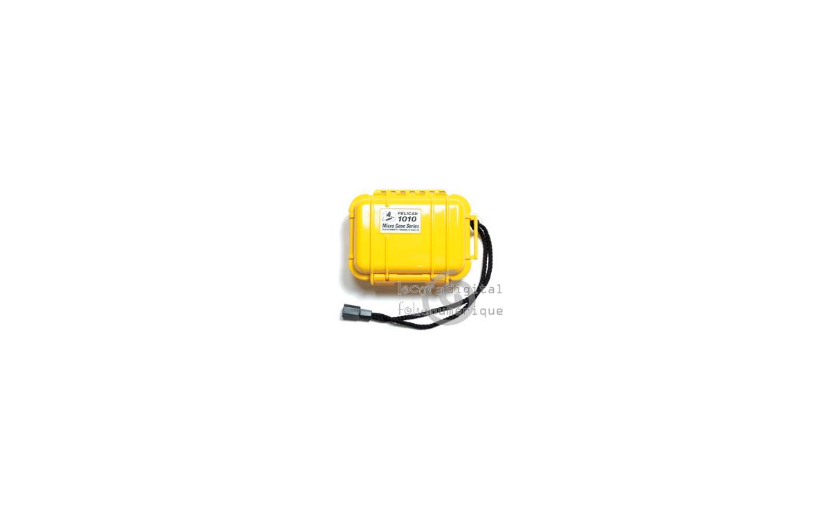 1010-025-240E Micro-Maleta de protección en Amarillo