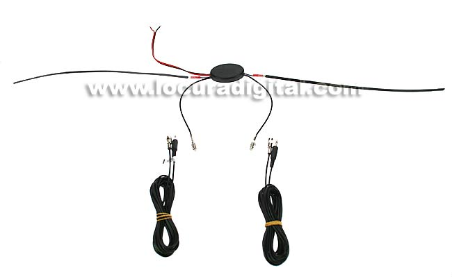 Vehicle interior DVBT3 amplified antenna DTT DIGITAL TV