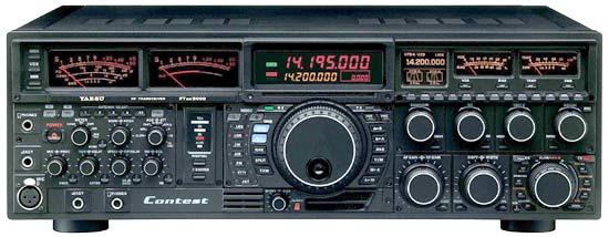 YAESU FTDX 9000 CONTEST