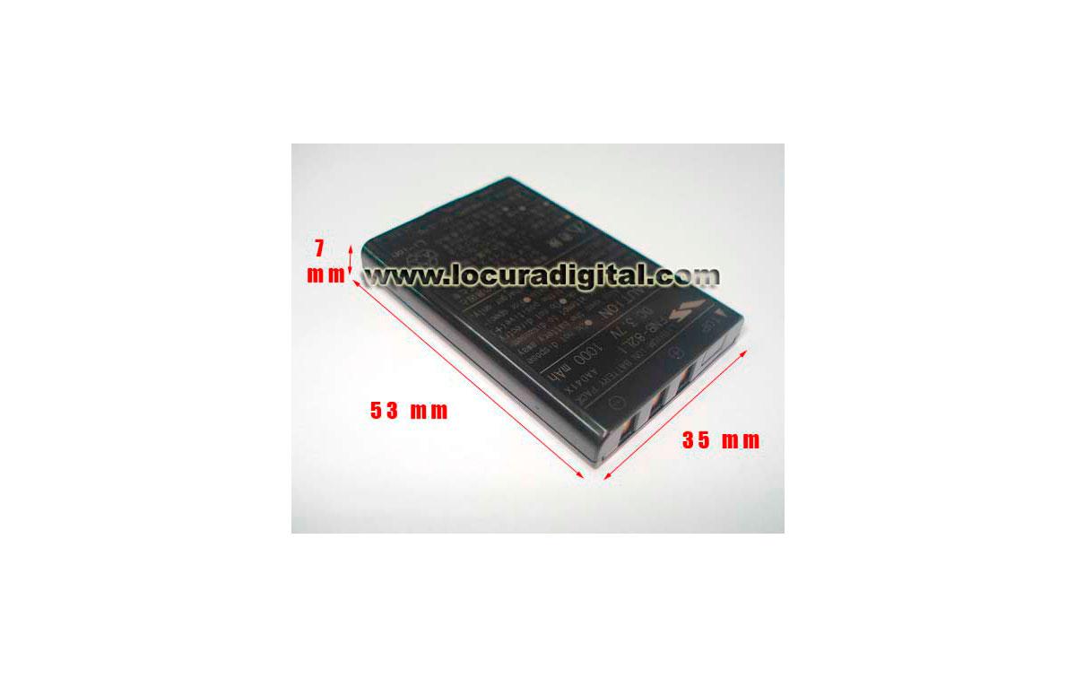 YAESU FN82 LI. BATERIA ORIGINAL YAESU VX 2voltage  3.7v. capacidad 1070 mAh. LITIO
