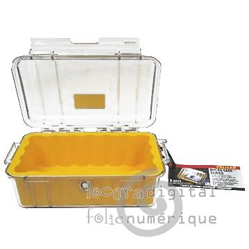 1050-025-100E Micro-Clear Protective Case-Black