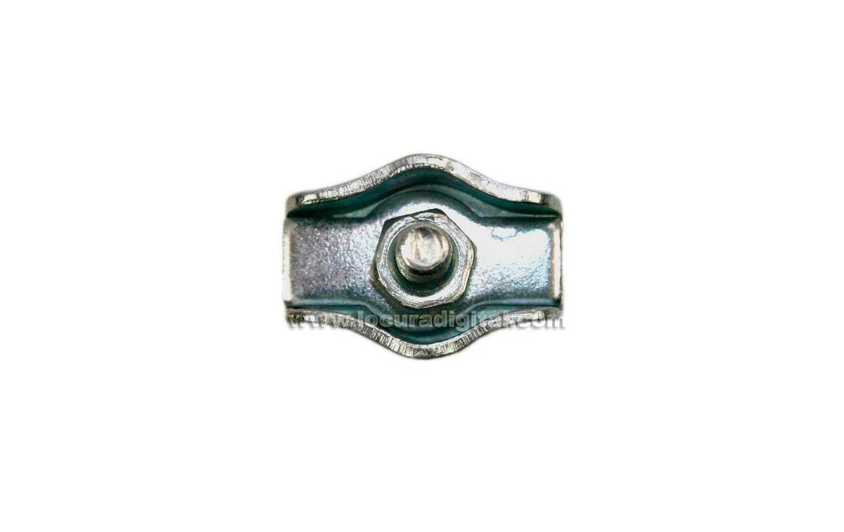 cta832 sujetacables metálico para hilo de dipolo
