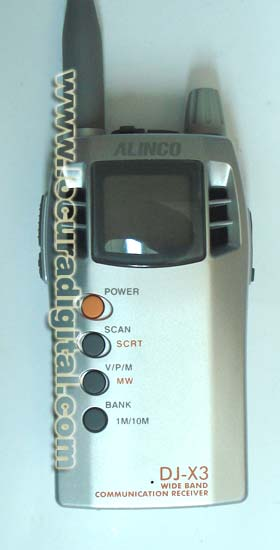 ESCANER ALINCO DJ-X3