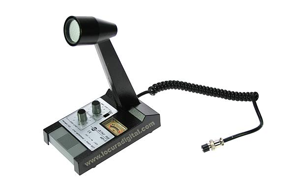 MB PLUS 9  ZETAGI microfono de sobremesa
