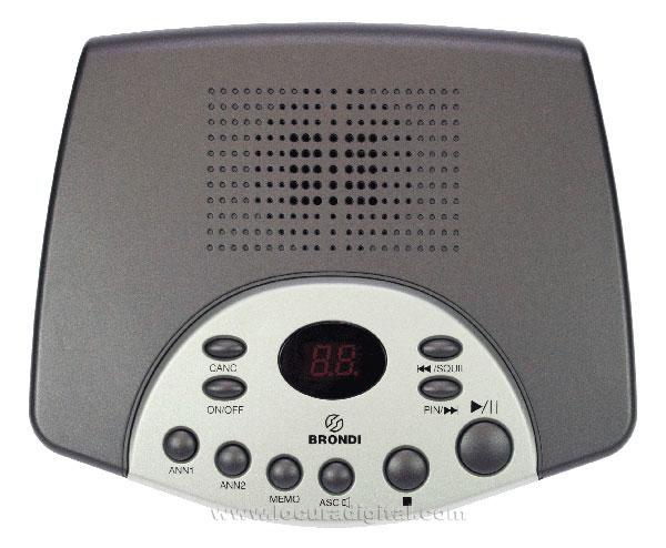 SDTOP BRONDI Contestador automático digital con memoria