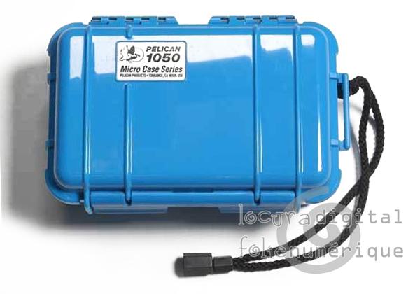 1050-025-120E Micro-Maleta de protección Azul