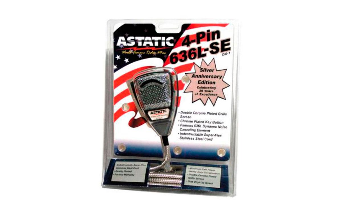 AT636LSE ASTATIC EEUU microfono