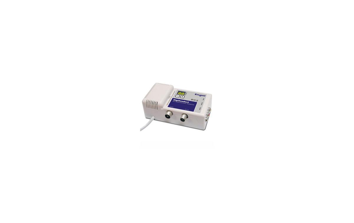 MV7125 Digi Sender-2 para distribuir la señal DIGITAL - TV y todos los equipos audiovisuales en casa