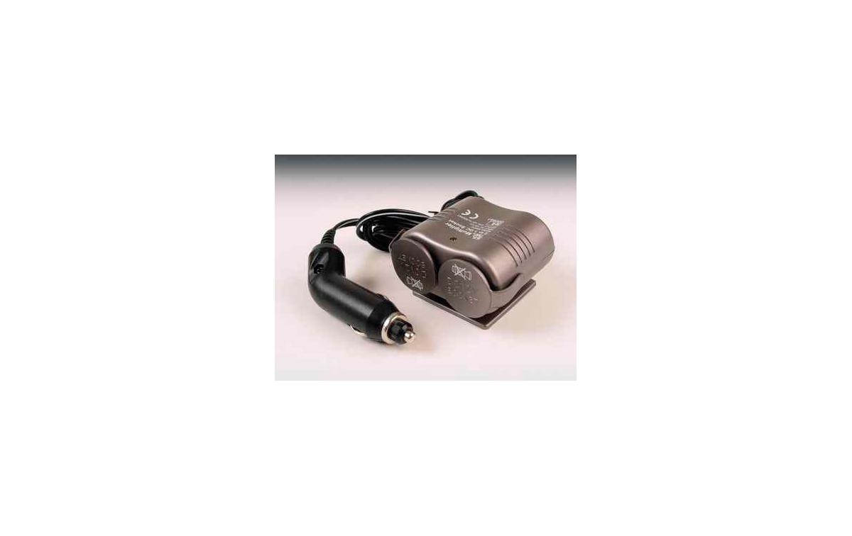 MECHE1182A Adaptador de mechero 1 Macho x 2 Hembras 12 V DC