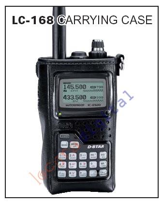LC-168  Funda para IC-E92D ICOM