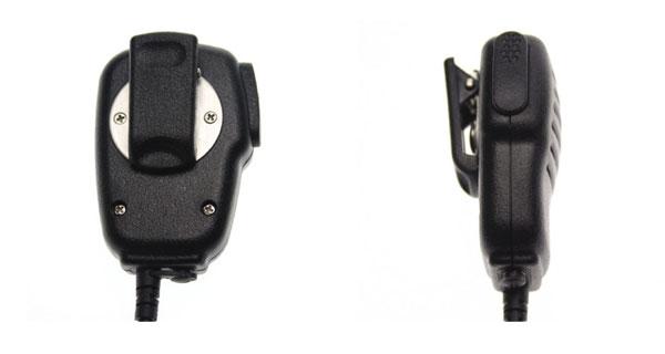NAUZER MIA115M2.  Microfono altavoz PTT de altas prestaciones para walkies MOTOROLA y COBRA de uso libre.
