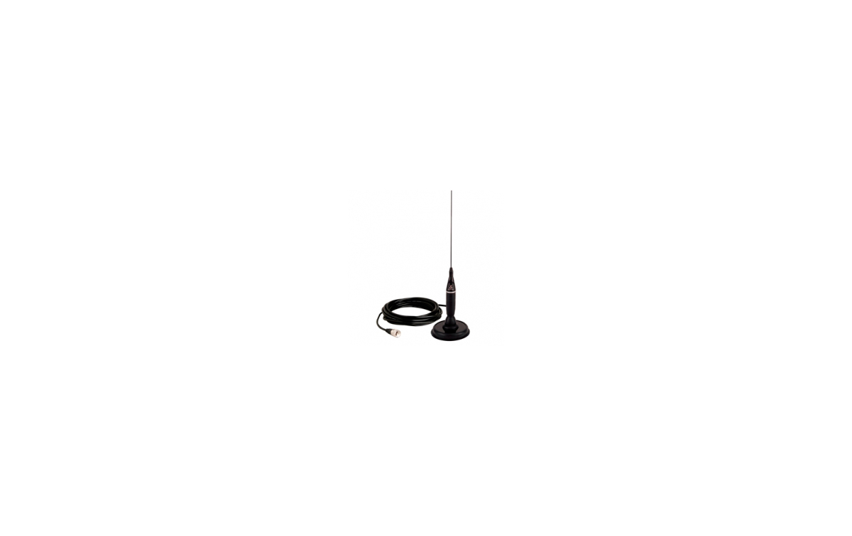 COBRA HGA1500CB Antena CB 26-28 Mhz 5/8 .magnética, 300 wats.105 cms.