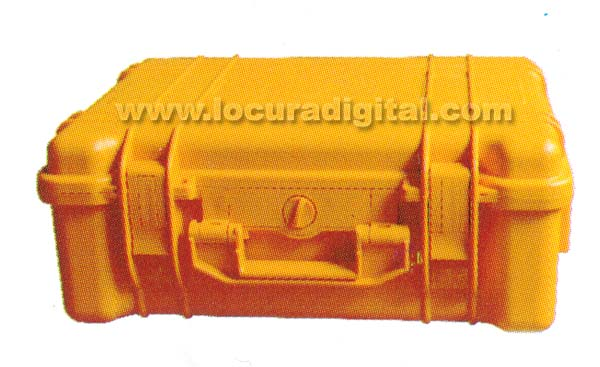 MPM285 BARRISTER maleta recambio sistemas MP8080 y MP9090, NARANJA