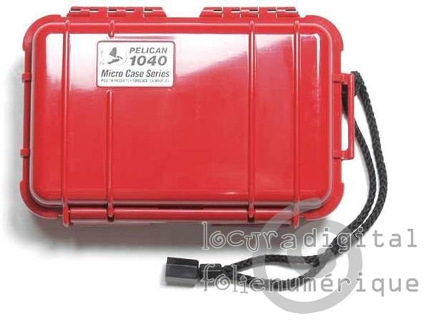 1040-025-170E Micro-Vermelha Bolsa de protec?