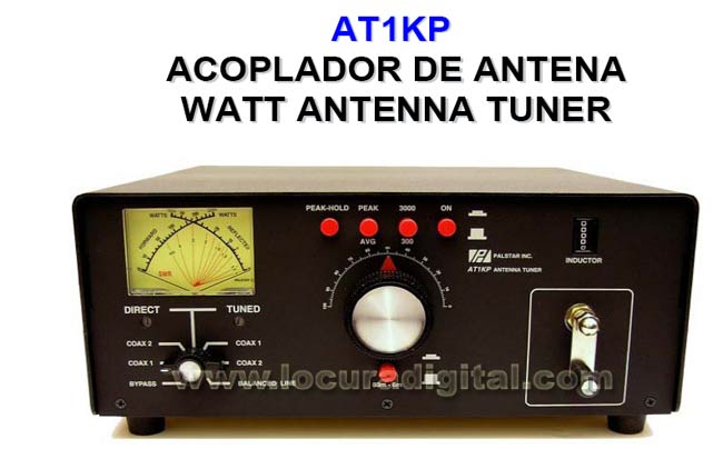 1kp Palstar AT-meter Antenna Coupler. 1200 Watts maximum power
