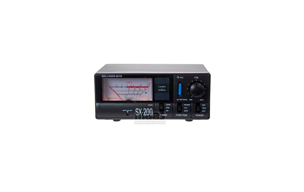 SX 200 Medidor R.O.E. / Watimetro hasta 200 w. 1.8- 200 MHZ