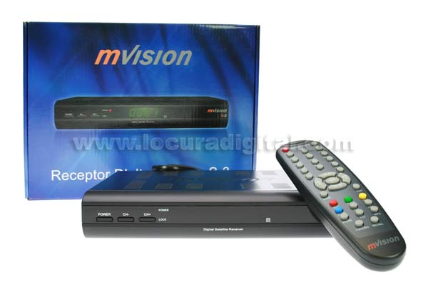 MVISION MVISIONS3 digital satellite receiver