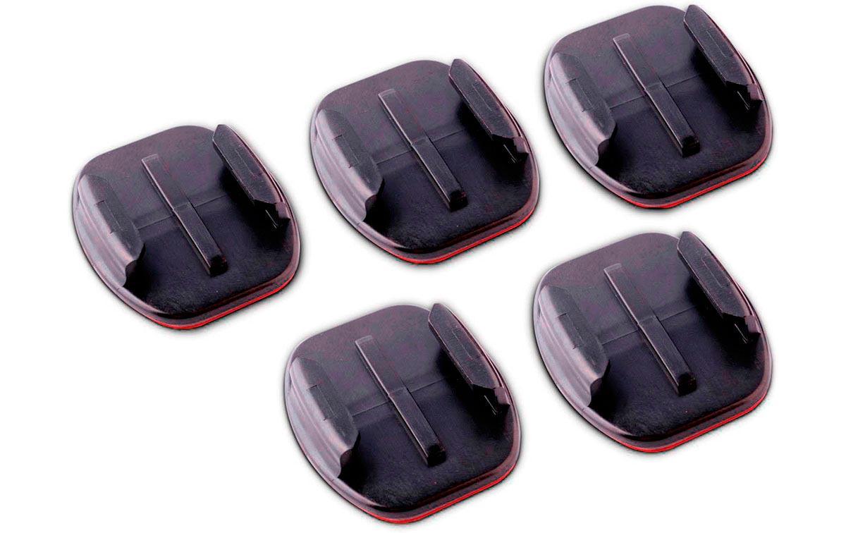 AALST GoPro HERO pack de 5 ancaljes adhesivos planos