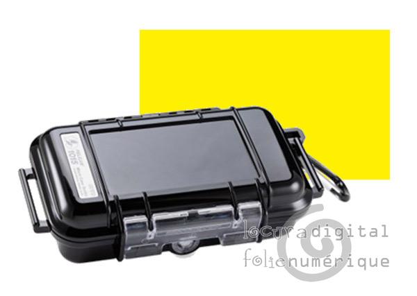 1015-005-240 Micro-Maleta de protección  Amarilla - Opaca
