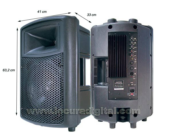 Barrister BAMP-12. Speaker with Integrated Amplifier 250 W.