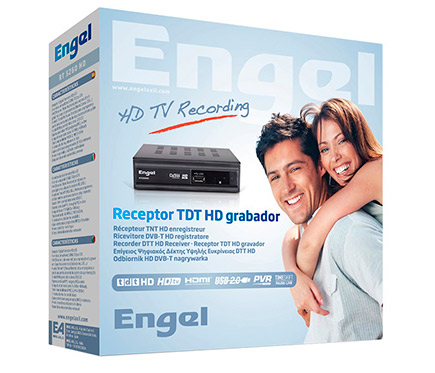 ENGEL RT-5260HD Receptor TDT HD Grabador ENGEL RT 5260 HD
