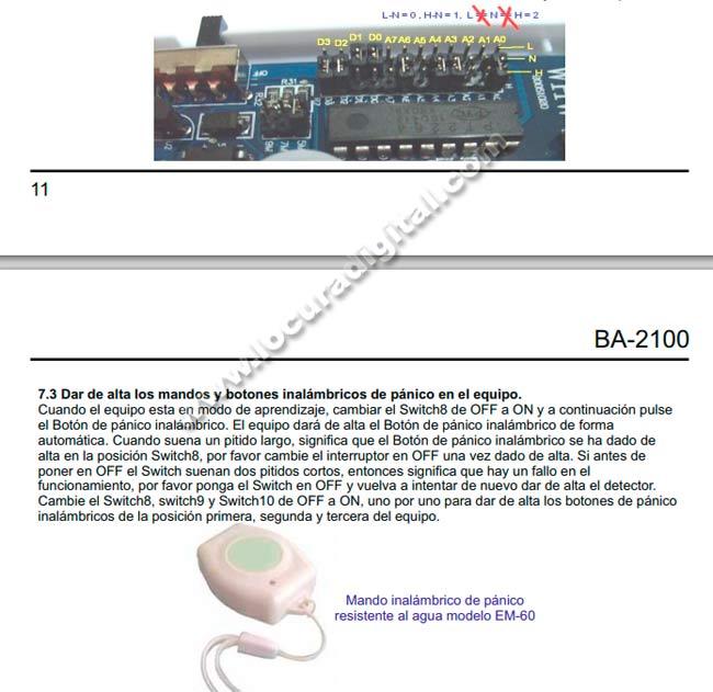 1234#M10#ALARMA DE P�NICO 3 ACTIVADA#