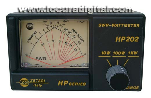 zetagi hp202 power meter