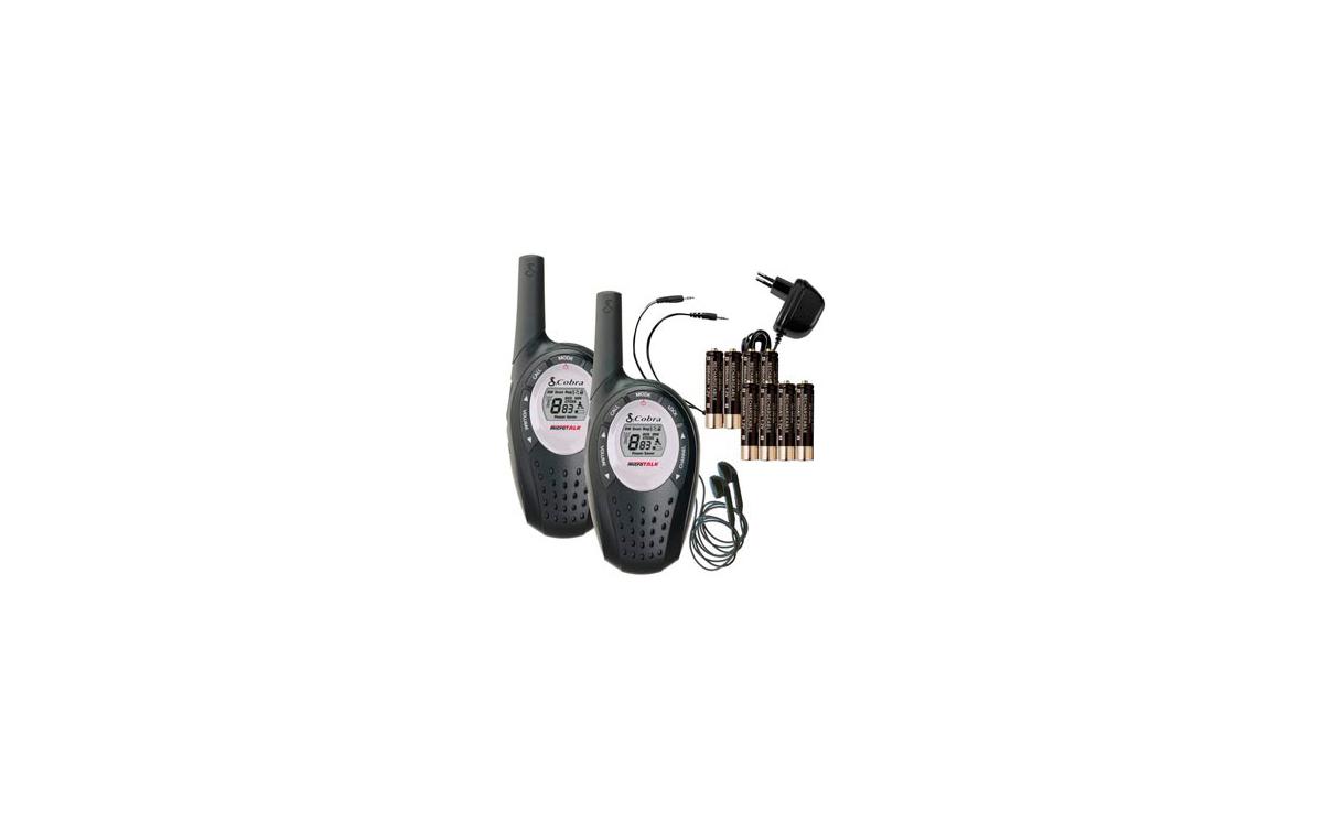 COBRA MT800. Pareja de walkies Sin licencia + Auriculares de Regalo