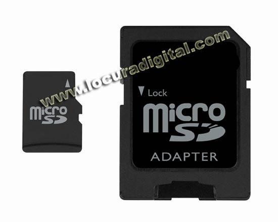Cumplimiento - cumple con la norma de especificación de tarjetas de SD Card Association