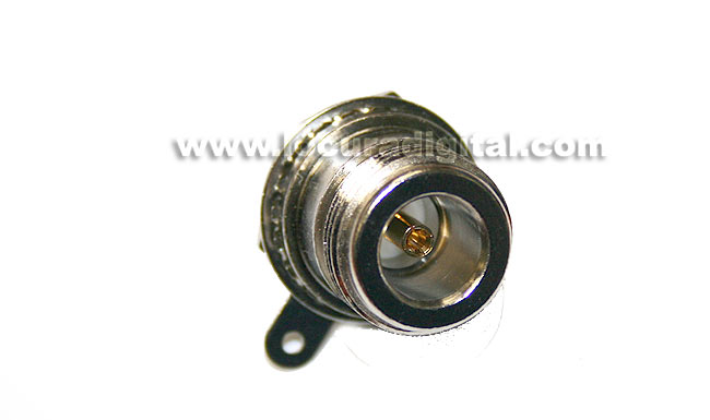 CON1276 chassis connector N type female threaded