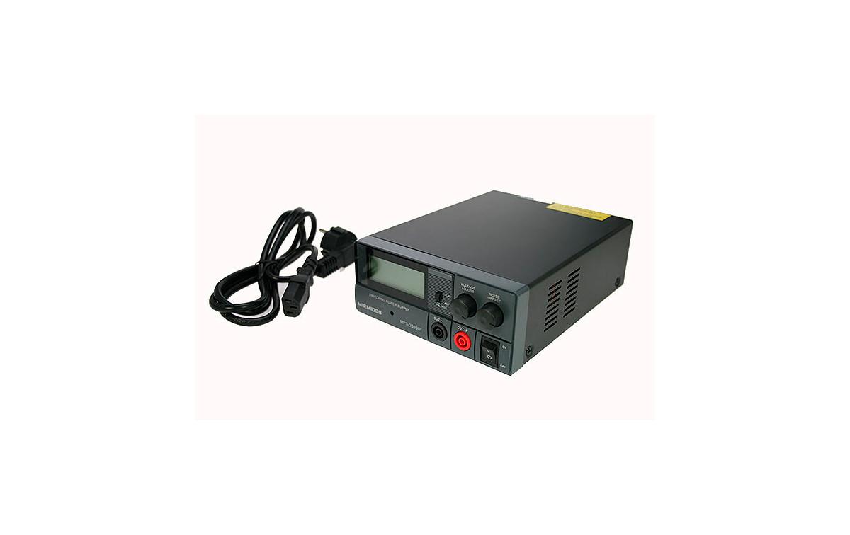 mps2030d mirmidon fuente alimentación conmutada 220volt ac/13,8dc (regulable 9 15 v), 30 amp.