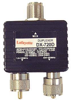 LAFAYETTE duplexer DX-7220HF-VHF-UHF